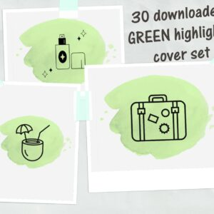 green highlight cover