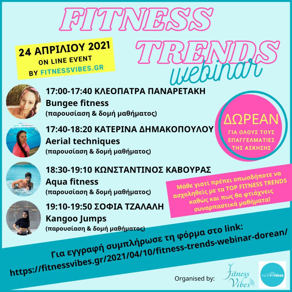 fitness trends webinar